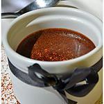 recette Mousse au chocolat noir, au piment d'Espelette.