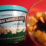 recette Verrines aux pommes et sirop de Liège