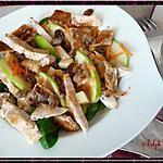 recette Salade de poulet à la granny-smith