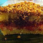 recette Gâteau au yaourt fourré à la confiture