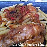 recette Paupiette de dinde au chorizo et petits légumes