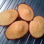 recette Madeleines au citron