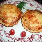 recette Tartelette aux champignons