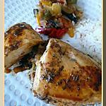 recette Roulés de dinde à la provençale.