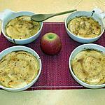 recette Délicieux flan aux pommes canelle et miel