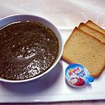 recette Soupe aux feuilles de blette et cives d'oignon.