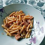 recette Pâte italienne au jambon