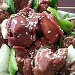 recette Brochettes de Foies de Vollaile
