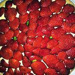 recette Tarte aux fraises, crème pâtissière à la pistache