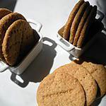 recette biscuits au gingembre