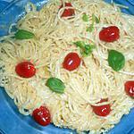 recette spaghetti sauce cremeuse au parmesan