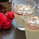recette Panna cotta à la cardamome et la gelée de rose du Lot