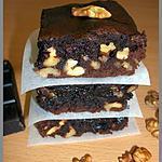 recette Brownies fondants aux noix