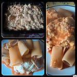 gratin de pâte mozzarella et tomate