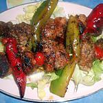 recette Brochette de porc au paprika