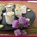 recette Petites bouchées de riz fraicheur Chavroux ®