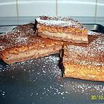 recette gateau magique poire / chocolat