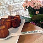 recette Cannelés à la fleur d'oranger