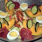 recette petite salade estivale