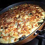 recette Gratin de riz au courgettes et curry