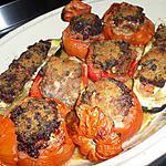recette Mes légumes farcis au pistou