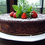 recette Le gâteau chocolat et caramel carambar