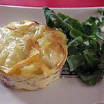 recette Flan de pommes de terre entrelardées