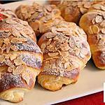 recette Les Croissants aux amandes