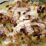 recette Gratin de choux fleur au jambon fumé et maroilles