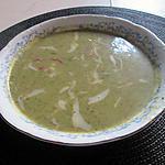 recette potage  fanes de radis  oseille