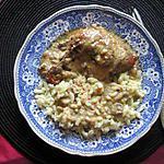 recette poulet au conté               recette trouvée chez mirabelle