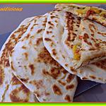 recette crêpes turques fourrées aux légumes