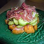 recette Melon concombre au vinaigre balsamique