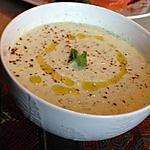recette Soupe glacée de concombre à la menthe