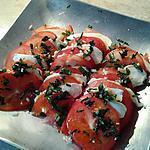 recette Tomates mozzarella simplissimes et cultissimes