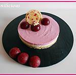 recette Bavarois chocolat blanc framboises