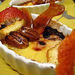 recette Crèmes brûlées à l'orange et aux pralines caramélisées