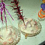 recette Duo de fraises et abricots chantilly