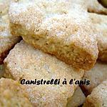recette Canistrelli à l'anis
