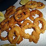 recette Calamars frits