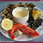 recette Assiette de la mer