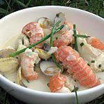 recette mijotée de la mer au lait de coco