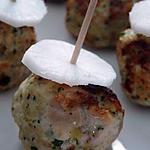 recette boulettes de poulet aux herbes