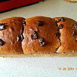 recette Brioche tout chocolat de Nad