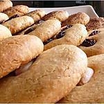 recette Cookies à la purée d'amande