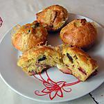 recette Mini cake aux lardon et Saint Albray