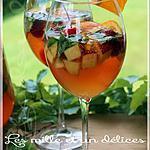 recette ~Sangria blanche pétillante~