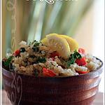 recette ~Quinoa au citron et coriandre~