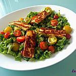 recette Salade au Halloumi