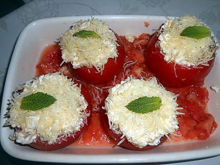 Tomates farcies brocciu menthe 430